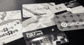 Pre-Paid/Gift Cards